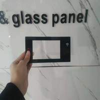 High strengthen silk screen chemical tempered glass panel