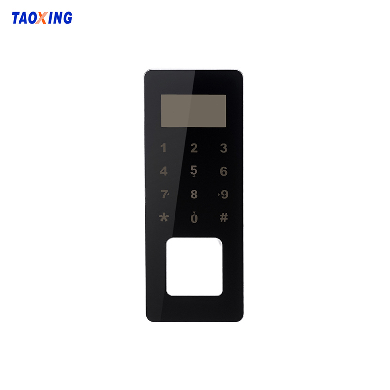 Customizable Touch Switch Door Fingerprint Lock Panel Glass