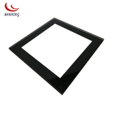 Back printing black chemical tempered glass cover for small household appliance devices